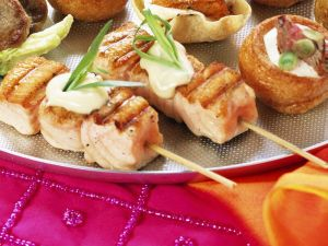 Salmon Skewers recipe
