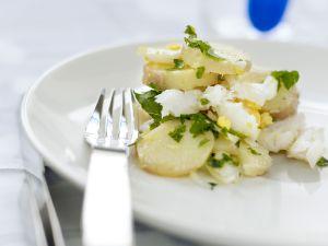 Salt Cod with Potatoes recipe