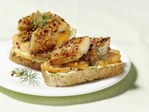 Sandwich with Smoked Mackerel recipe