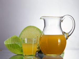 Sauerkraut and Apple Juice recipe