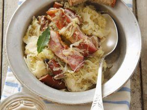 Sausage with Sauerkraut recipe
