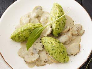 Sauteed Mushrooms and Polenta recipe