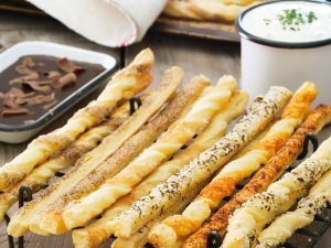 Savory and Sweet Breadsticks recipe