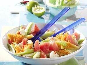 Savory Melon Salad recipe
