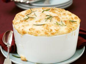 Savoury Potato and Rosemary Souffle recipe
