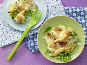 Savoy Cabbage-Noodle Casserole recipe