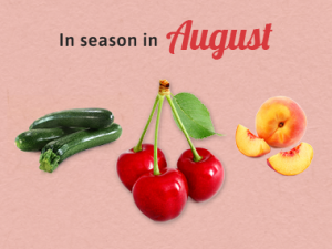 Seasonal Calendar - August