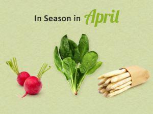 Seasonal Calendar - April