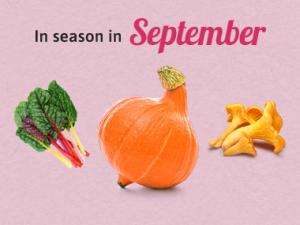 Seasonal Calendar - September