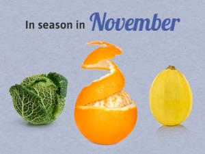 Seasonal Calendar - November