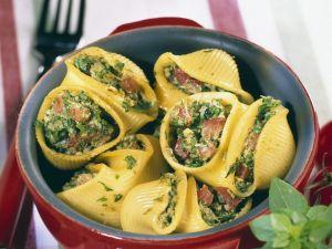 Seafood-filled Pasta Shells recipe