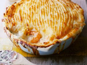 Seafood Pie with Potato Topping recipe