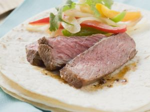 Seared Beef Fajitas recipe
