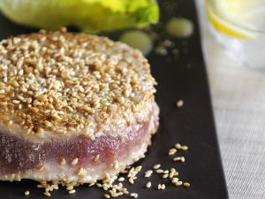 Seed-crusted Tuna Medallions recipe