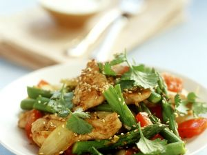 Sesame Chicken Salad recipe