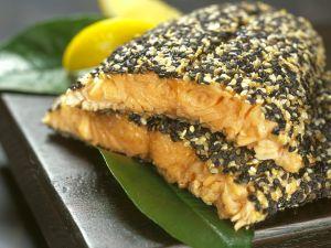 Sesame Crusted Salmon recipe