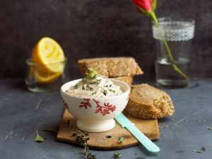 Sesame Spread with Herbs recipe