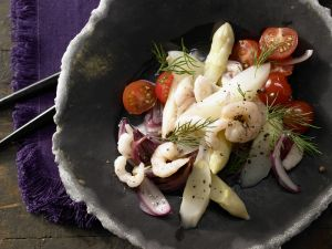Asparagus and Tomato Salad recipe