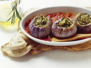Sicilian-style Stuffed Eggplant recipe