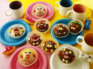 Silly Face Chocolate Muffins recipe