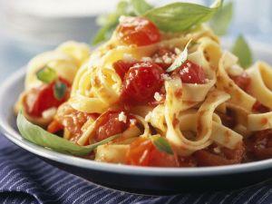 Simple Tomato and Basil Pasta recipe
