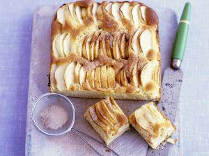 Sliced Apple Loaf Cake recipe