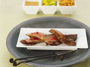 Sliced Spicy Steak recipe