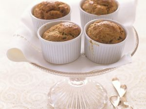 Small Souffles with Mushrooms recipe