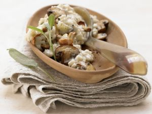 Smarter Risotto with Mushrooms recipe