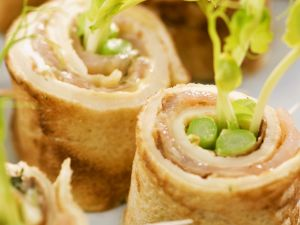 Smoked Salmon and Asparagus Appetizers recipe