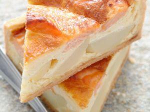 Smoked Salmon and Potato Tart recipe