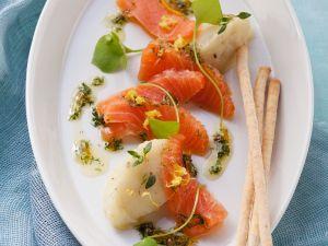 Smoked Salmon with Mash recipe
