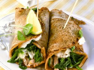 Pancake Wraps with Filling recipe
