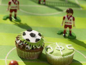 Soccer Cakes recipe