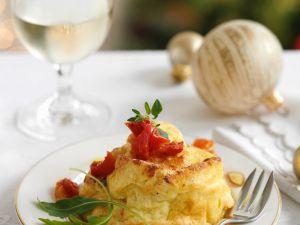 Soft Cheese Savoury Puddings recipe