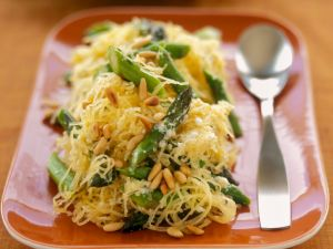Vegetable Pasta with Nuts recipe