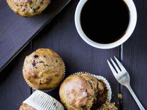 Spelt, Cranberry and Chocolate Muffins recipe