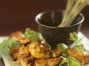 Spiced Chicken with Coriander recipe