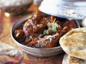 Spiced Indian Chicken Fricassee recipe