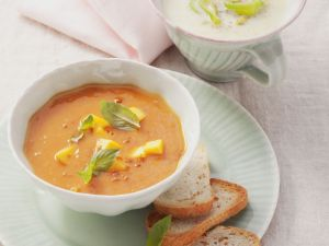 Spiced Mango and Tomato Soup recipe