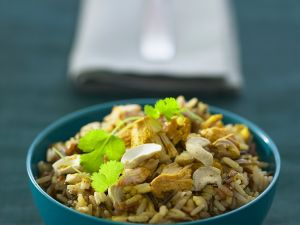 Spiced Rice with Nuts recipe