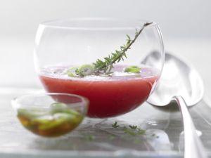 Spicy Cold Melon Soup recipe