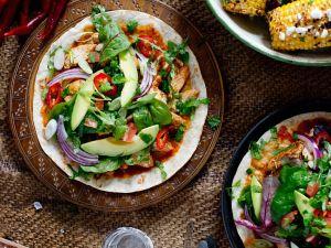 Spicy Mexican Tortillas recipe