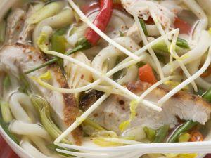Spicy Noodle Pho Soup recipe