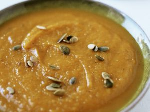 Spicy Pumpkin Soup with Pepitas recipe