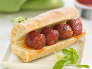 Spicy Sausage Ciabatta recipe