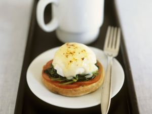 Spinach and Egg Breakfast recipe