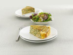 Spinach and Salmon Quiche recipe