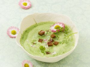 Spring Herb Soup recipe