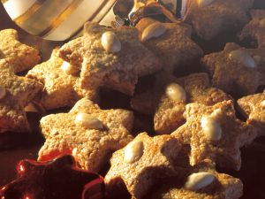 Star-shaped Oat Cookies recipe